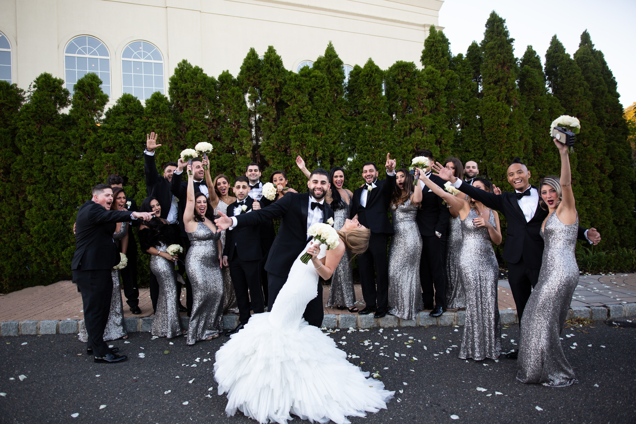 big armenian wedding at merion