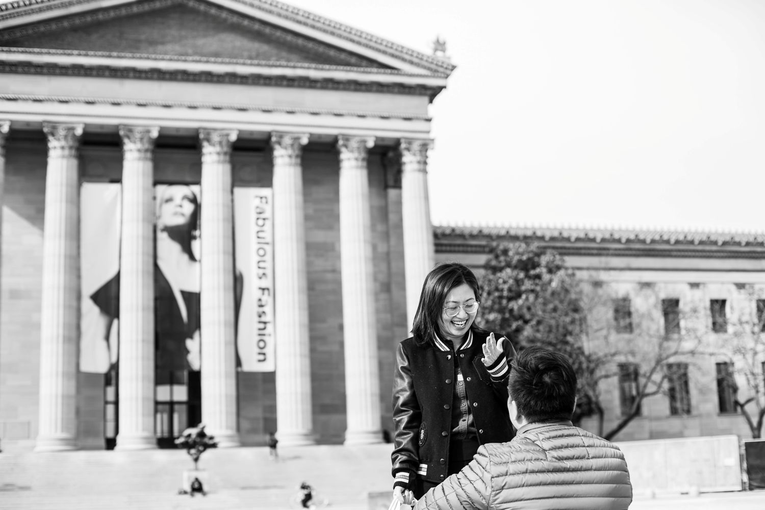 art museum philly surprise proposal