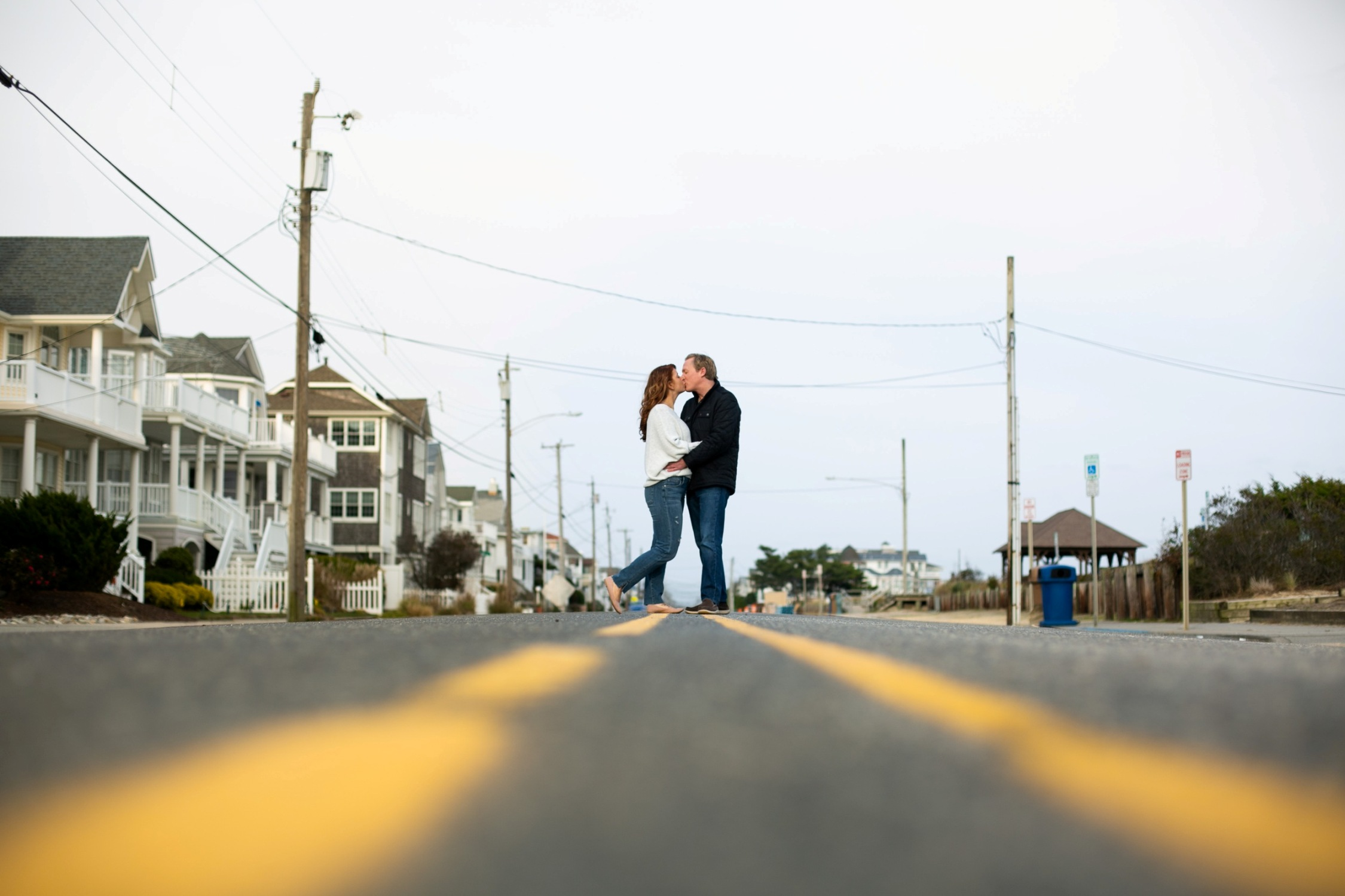 ocean city engagement session