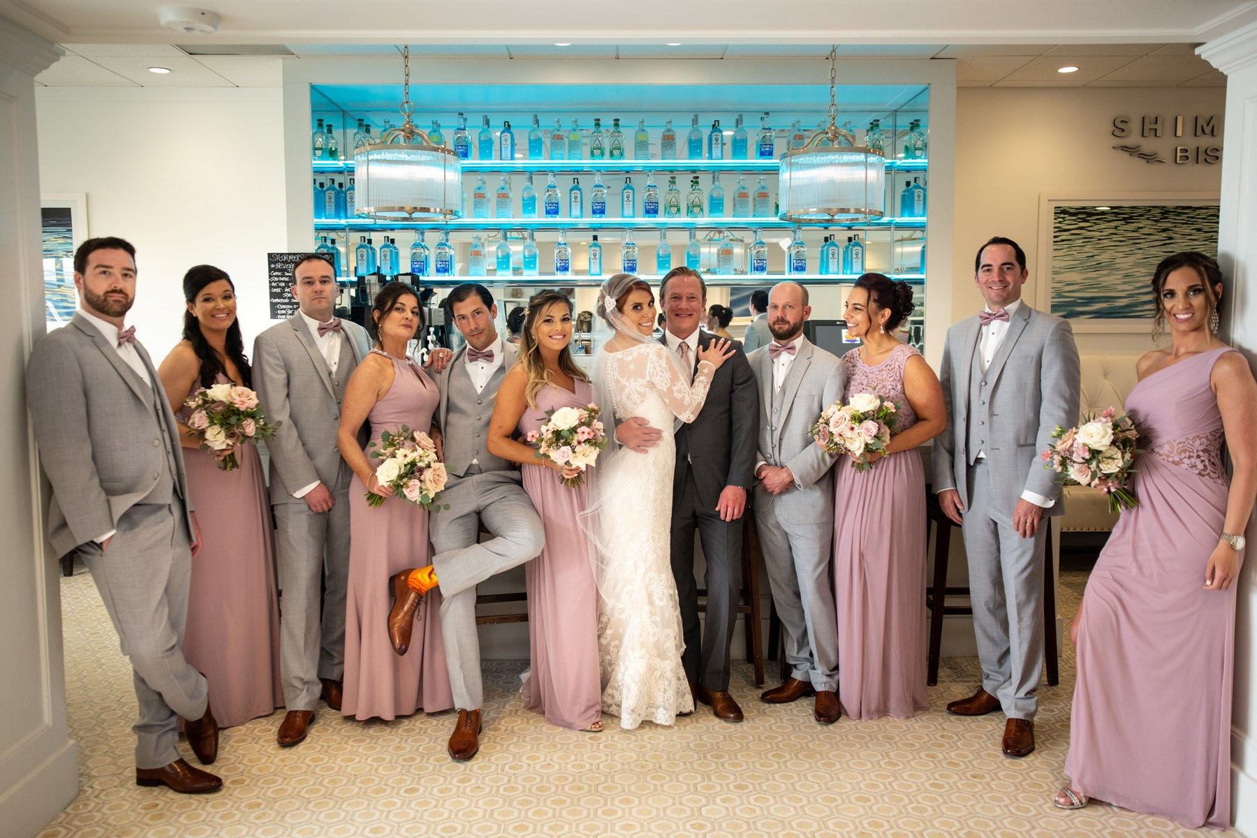 icona avalon bridal party photo