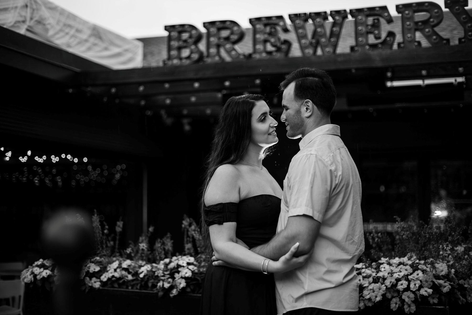 Chestnut Hill Engagement brewery