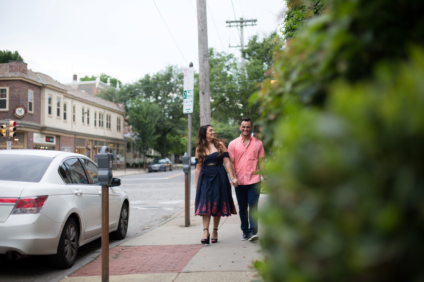 Chestnut Hill Engagement Photosession
