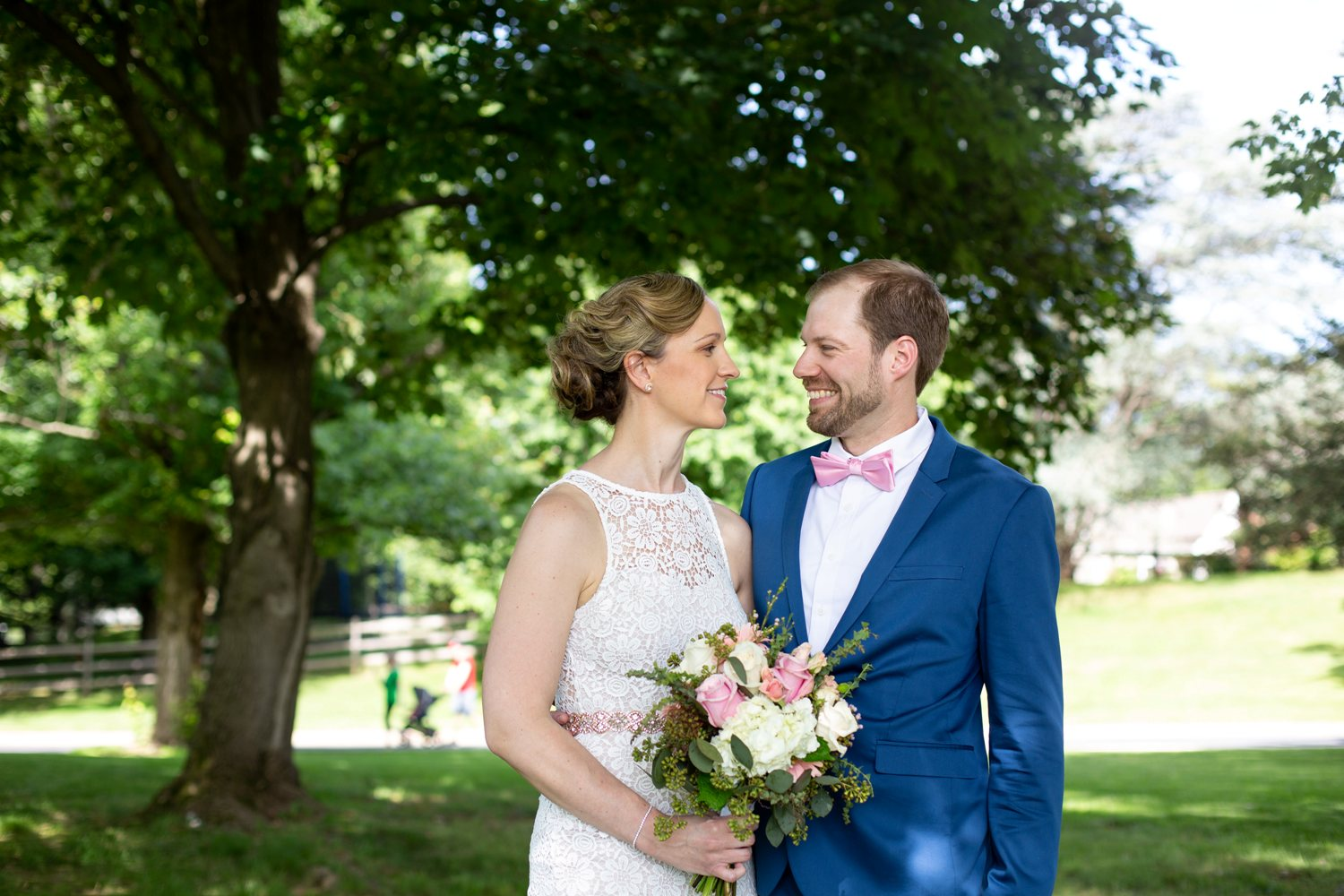 blue bell wedding photos