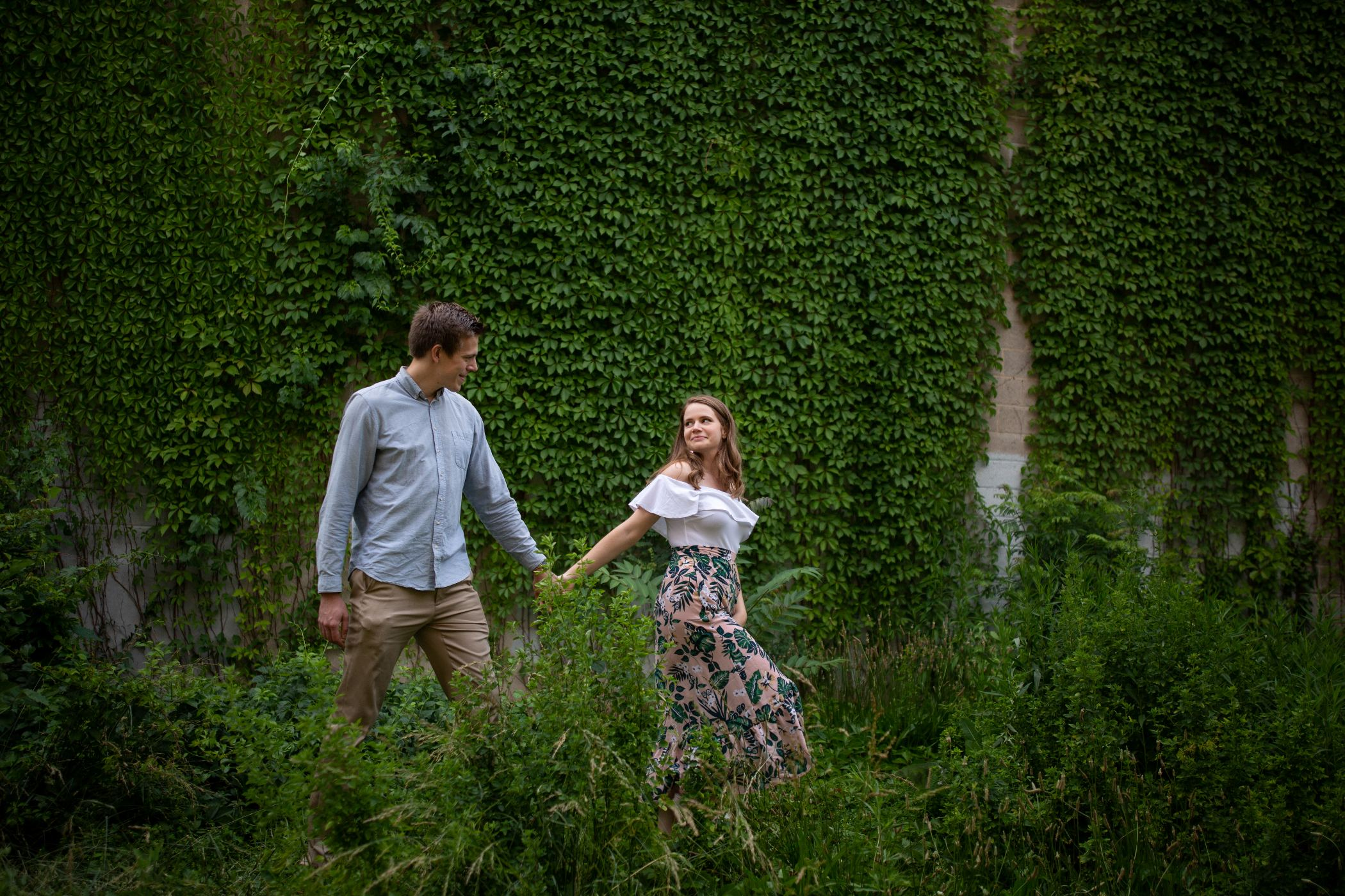 fairmount engagement session