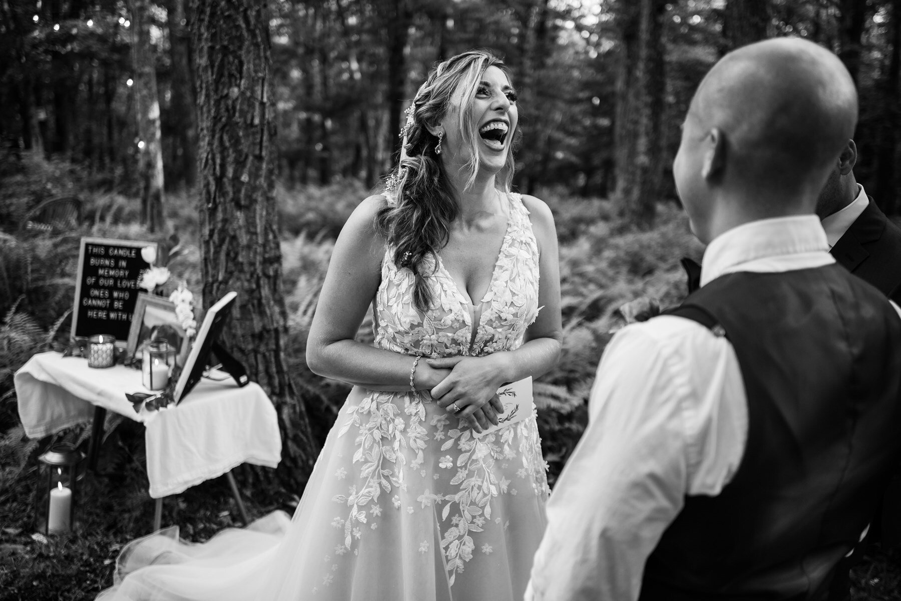 emotional wedding photos in the mountains