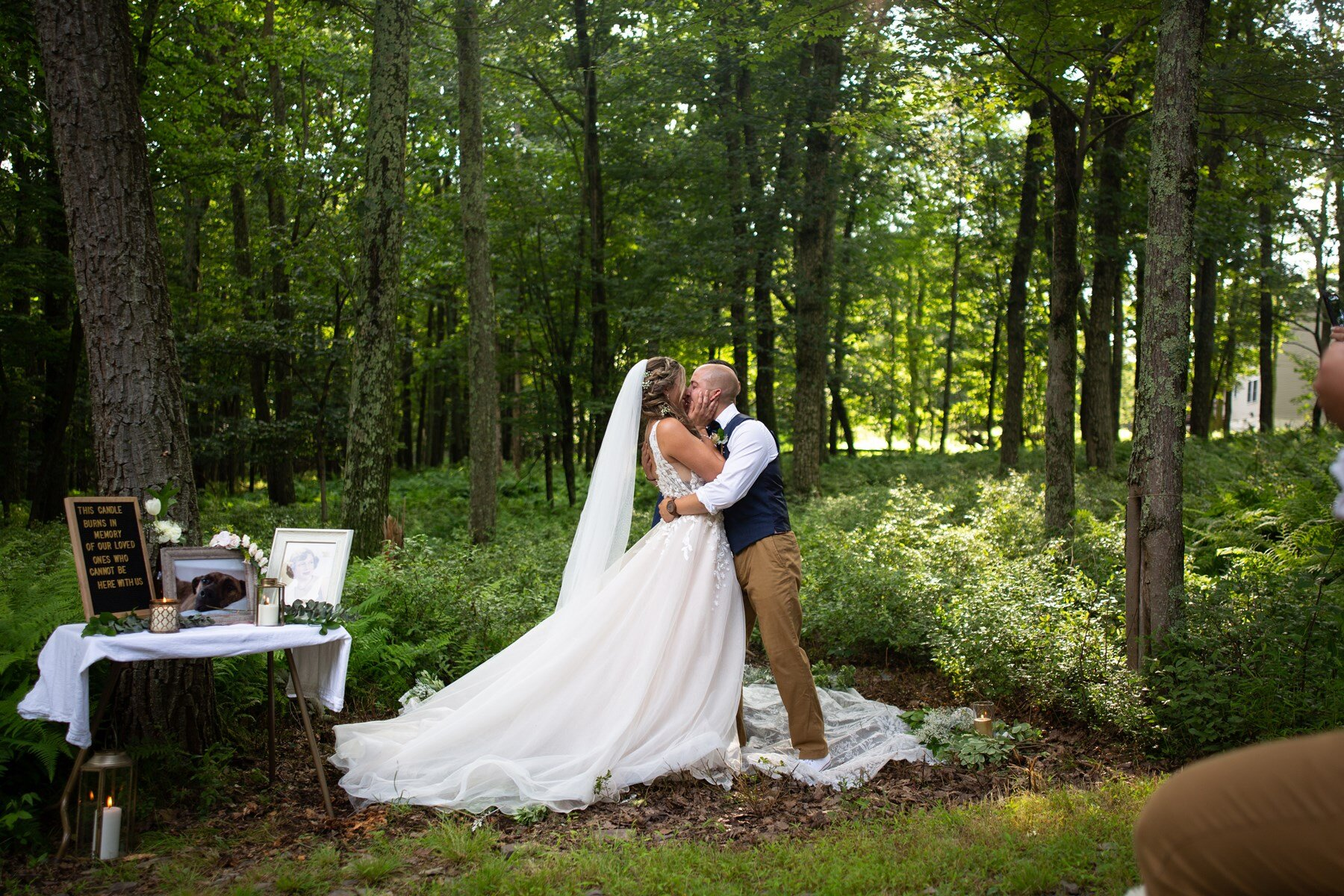 first kiss in the poconos