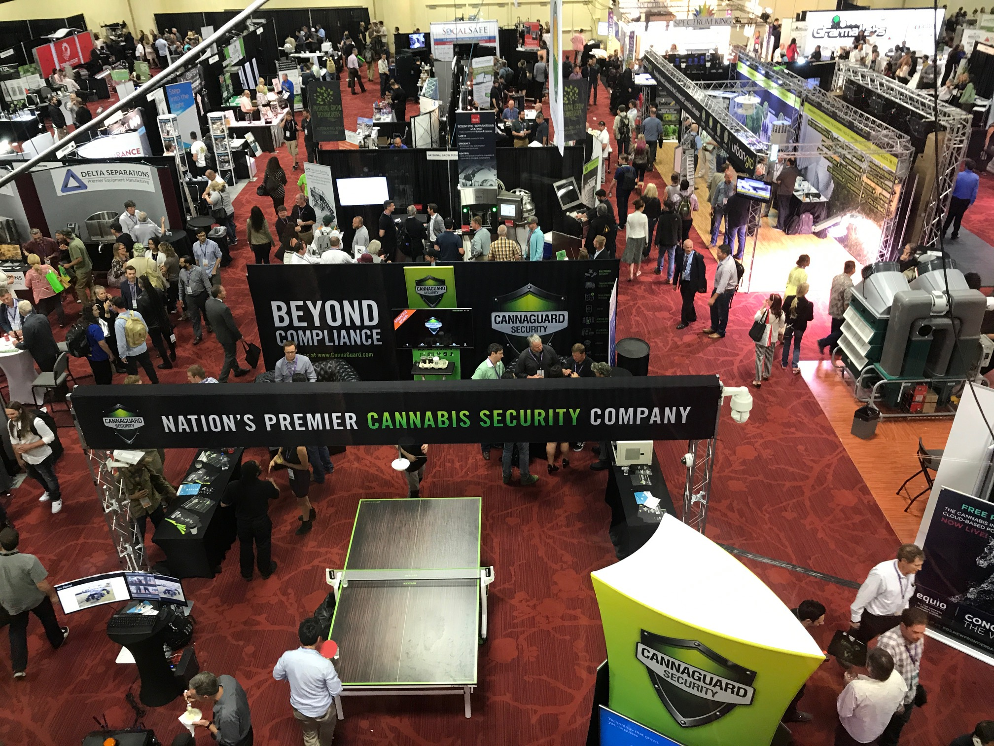 View from the Sky Box at the NCIA 2017