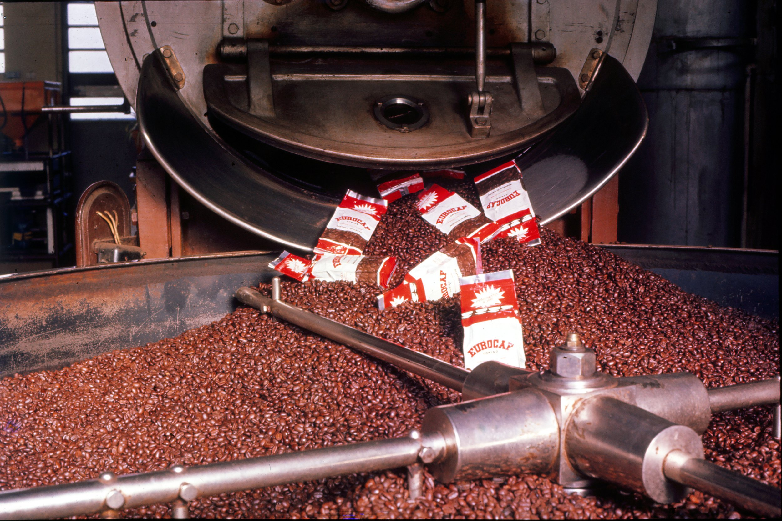 1960 coffee roasting