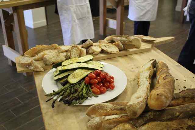 Sliced Baguette & Roasted Veggies II - Bread Class.jpg
