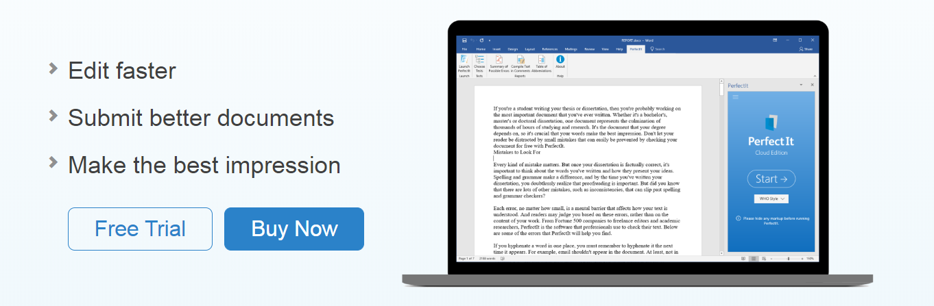 PerfectIt gives you the power of proofreading - for you and your whole team