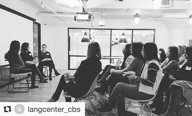 #Repost @langcenter_cbs (@get_repost) ・・・ Great way to start the day: Columbia Women #Entrepreneurs Networking Breakfast with Lisa Chow '13 of @gimletmedia, Rachel Drori '09 of @dailyharvest & Gabby Slome '14 of @myollie 🙌