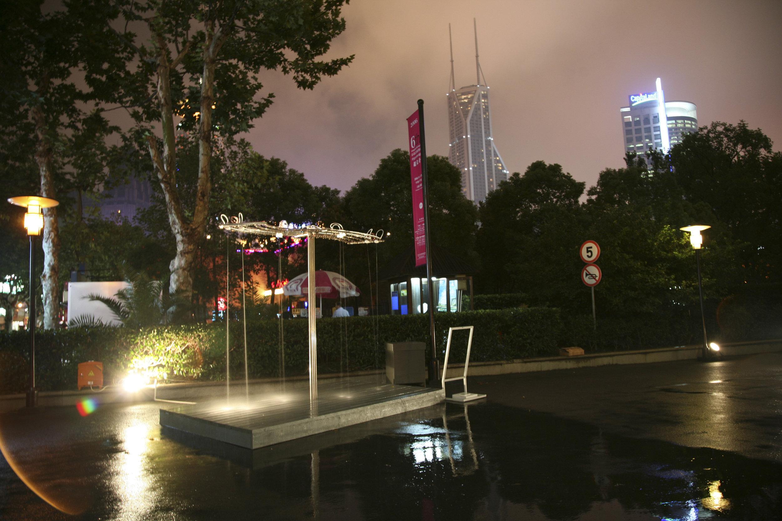 with Paul DeMarinis Installation views, Hyper Design, the 2006 Shanghai Biennial