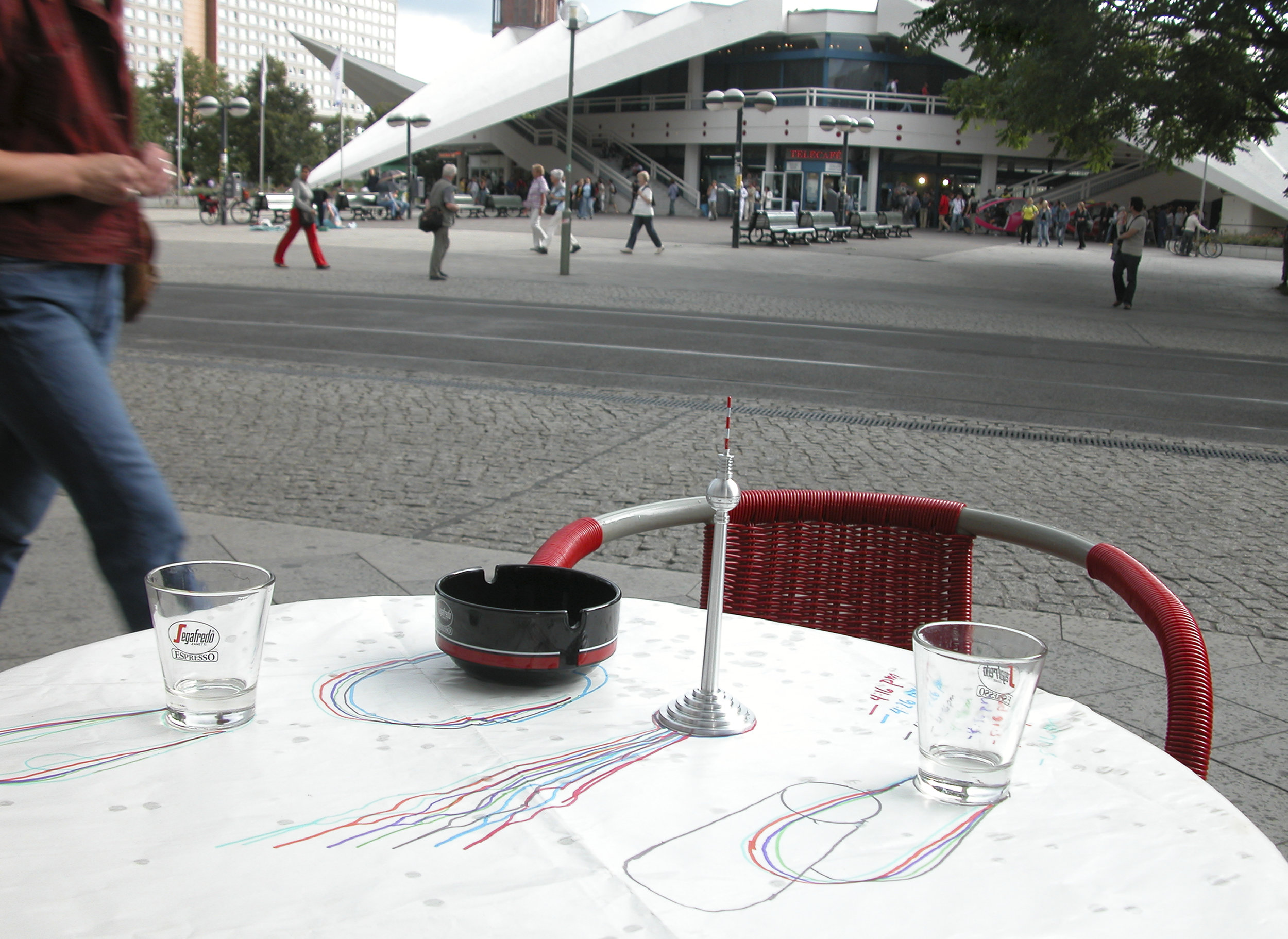Coffee, Radio Tower, Berlin …August 13, 2004
