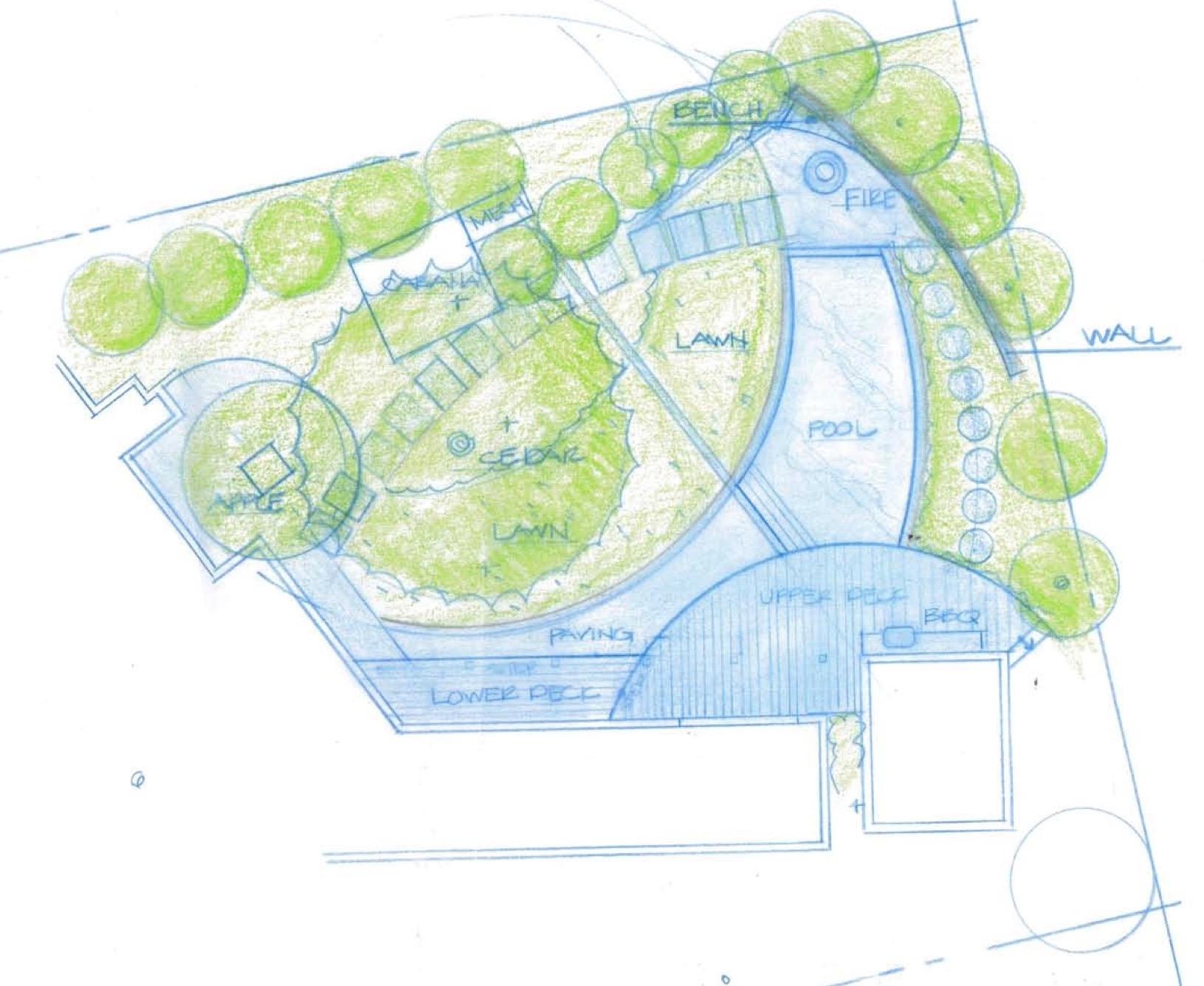 Conceptual Study by Arterra Landscape Architects