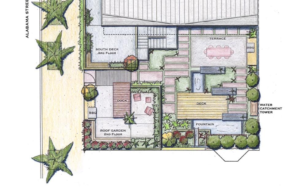 Master Plan by Arterra Landscape Architects