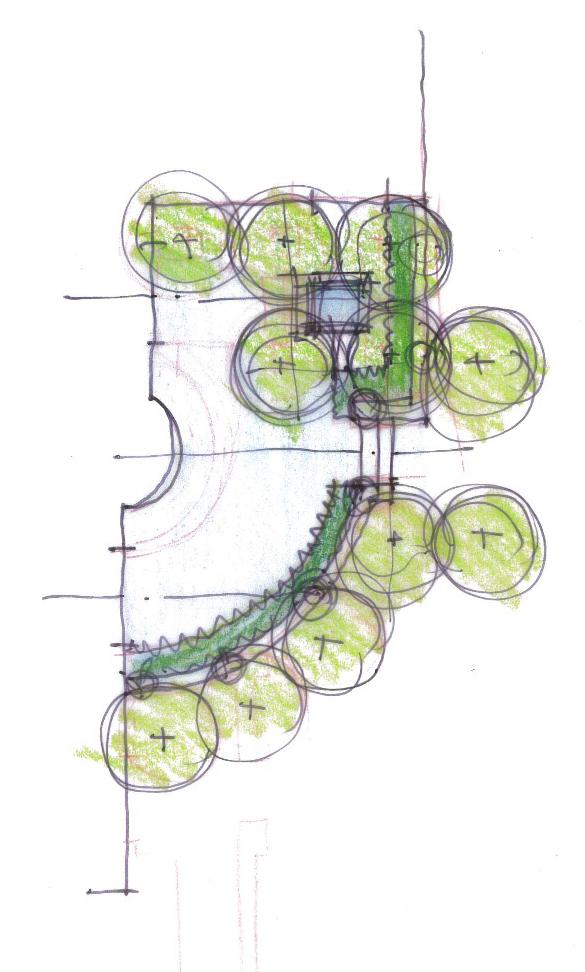 Sketch by Arterra Landscape Architects