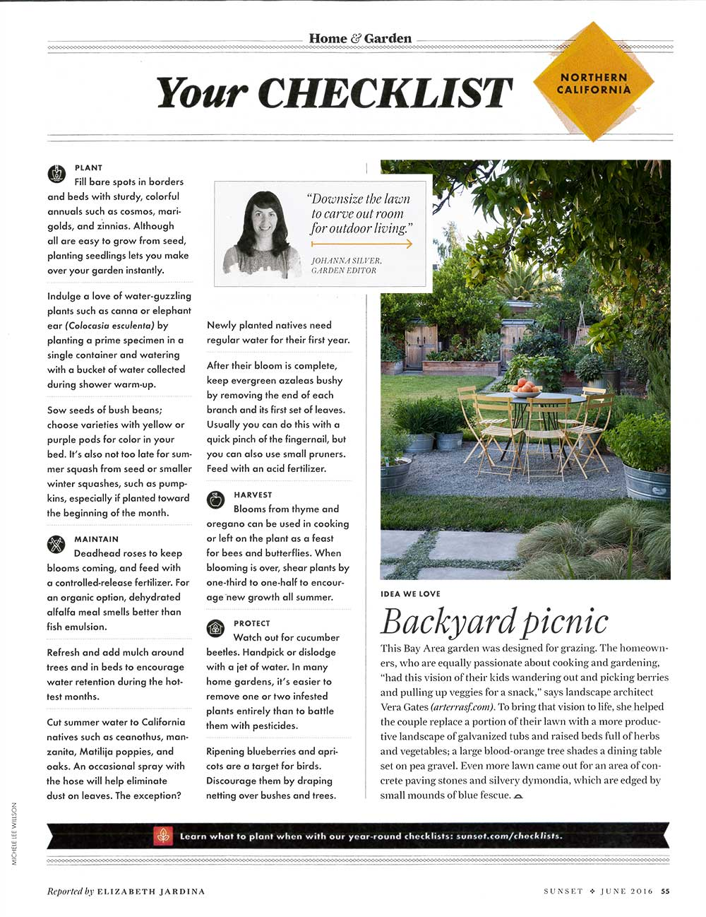 Sunset Magazine features Arterra's project Fruitful Abundance, for including edible plantings all around the landscape.