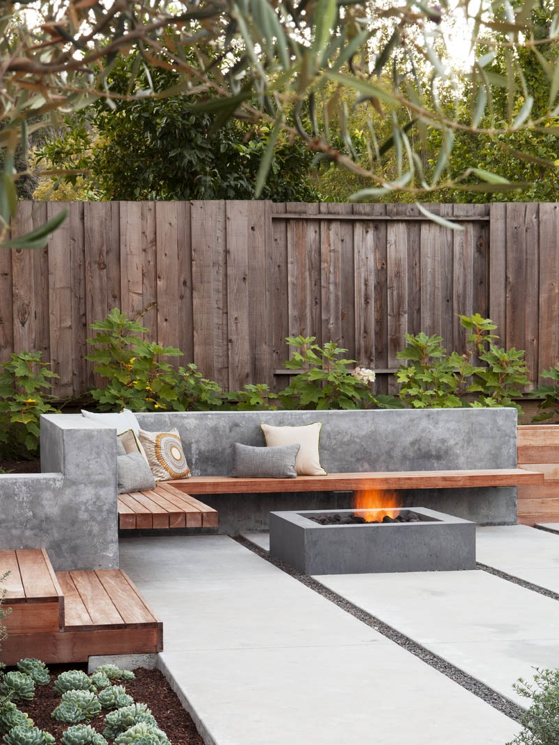 7 Examples Of Contemporary Firepits - To Inspire You