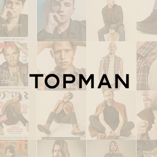 TOPMAN - Dave Johnson Web Design