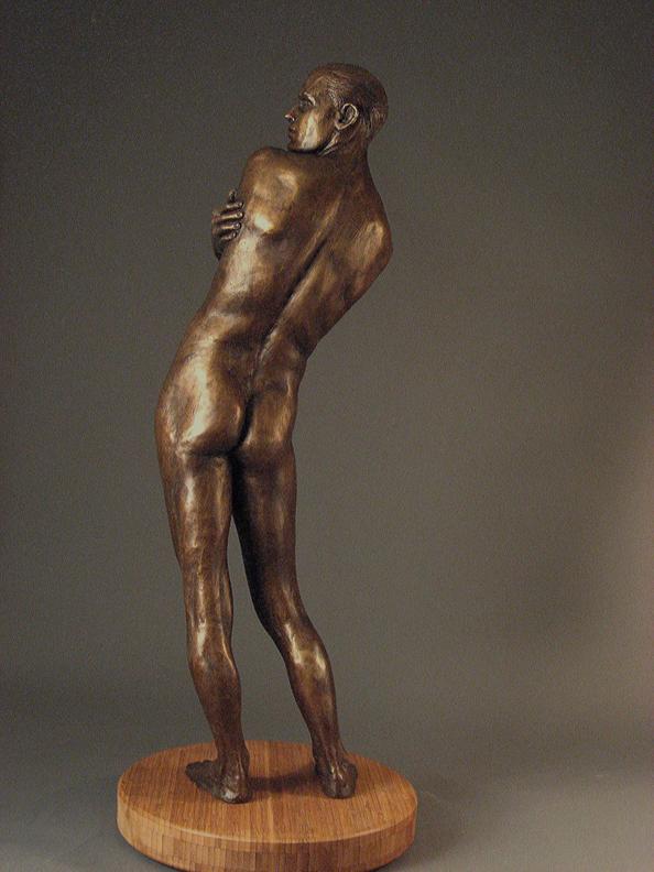 Adonis  -31 X 12 X 8 in cast bronze