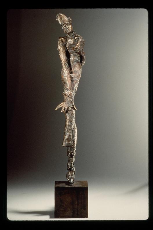 Dance of Endurance  -31 X 12 X 8 in cast bronze