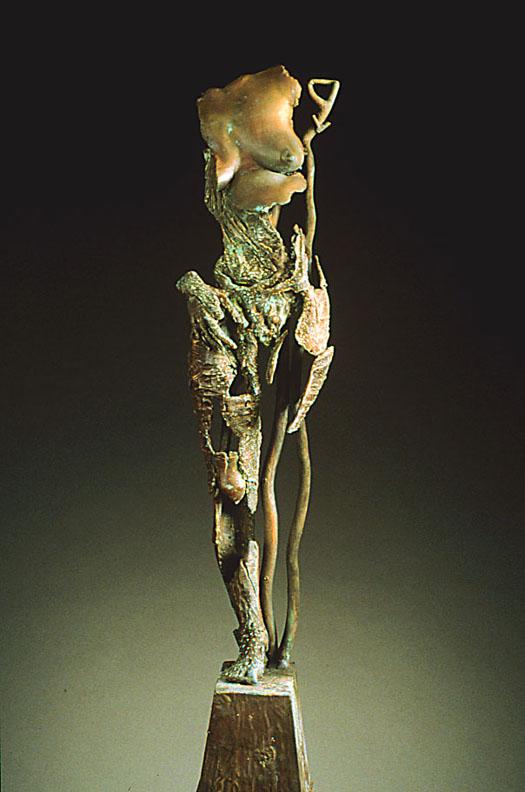 Endurance  -32 x 8 x 6 in cast bronze