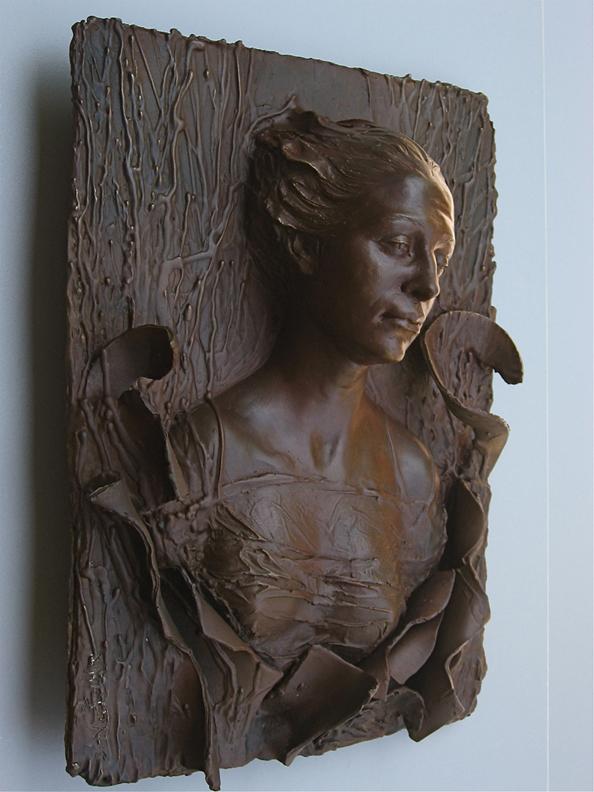 Gaia II  - 15 X 12 X 5 in cast bronze