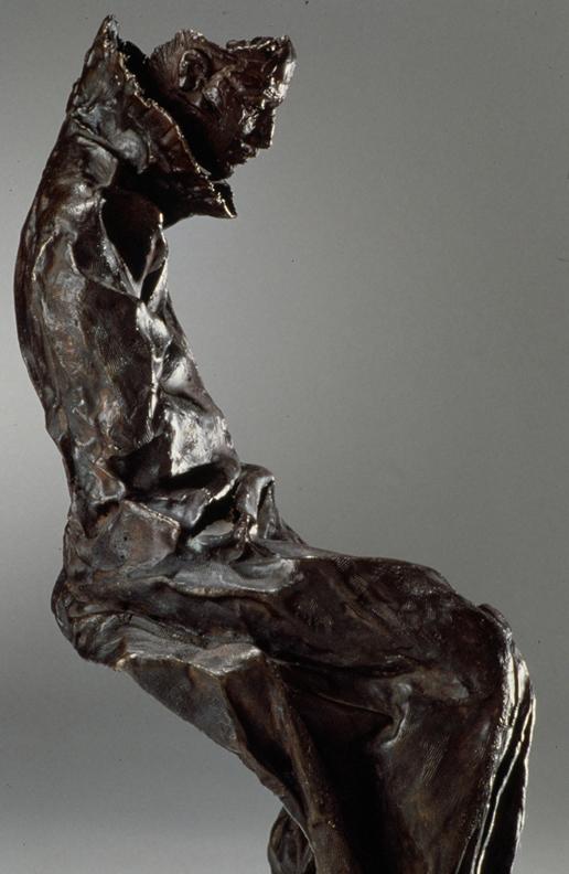 Meditation  - 28 X 9 X 21 in cast bronze