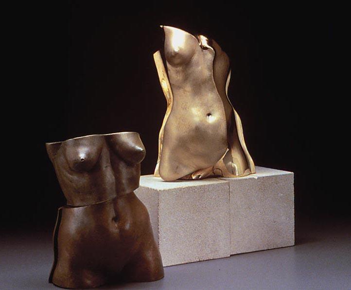 Res II - 12 X 12 X 12 in cast bronze