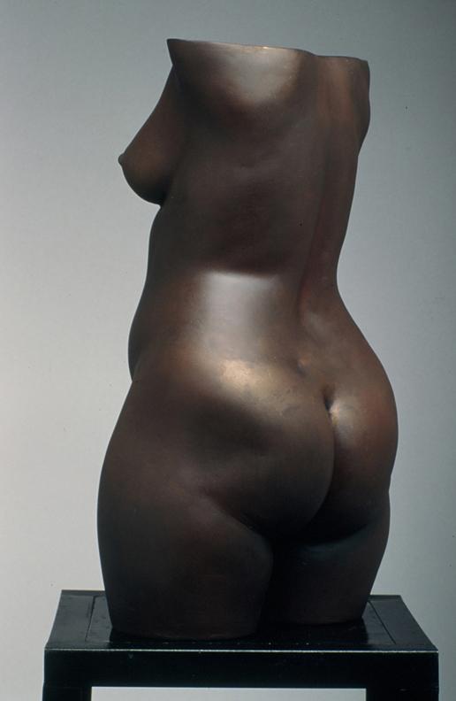 Torso of Laura  - 18 X 9 X 6 in cast bronze