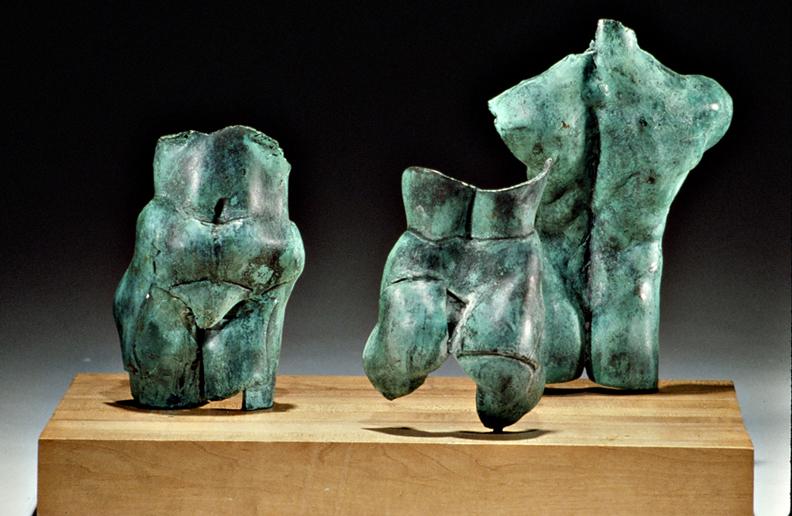 Conversations  - 16 X 10 X 7 in cast bronze