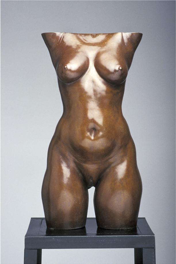 Torso of Ninoska  - 19 X 9 X 10 in cast bronze