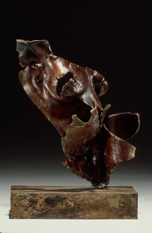 Vestige - 9 X 8 X 6 in cast bronze