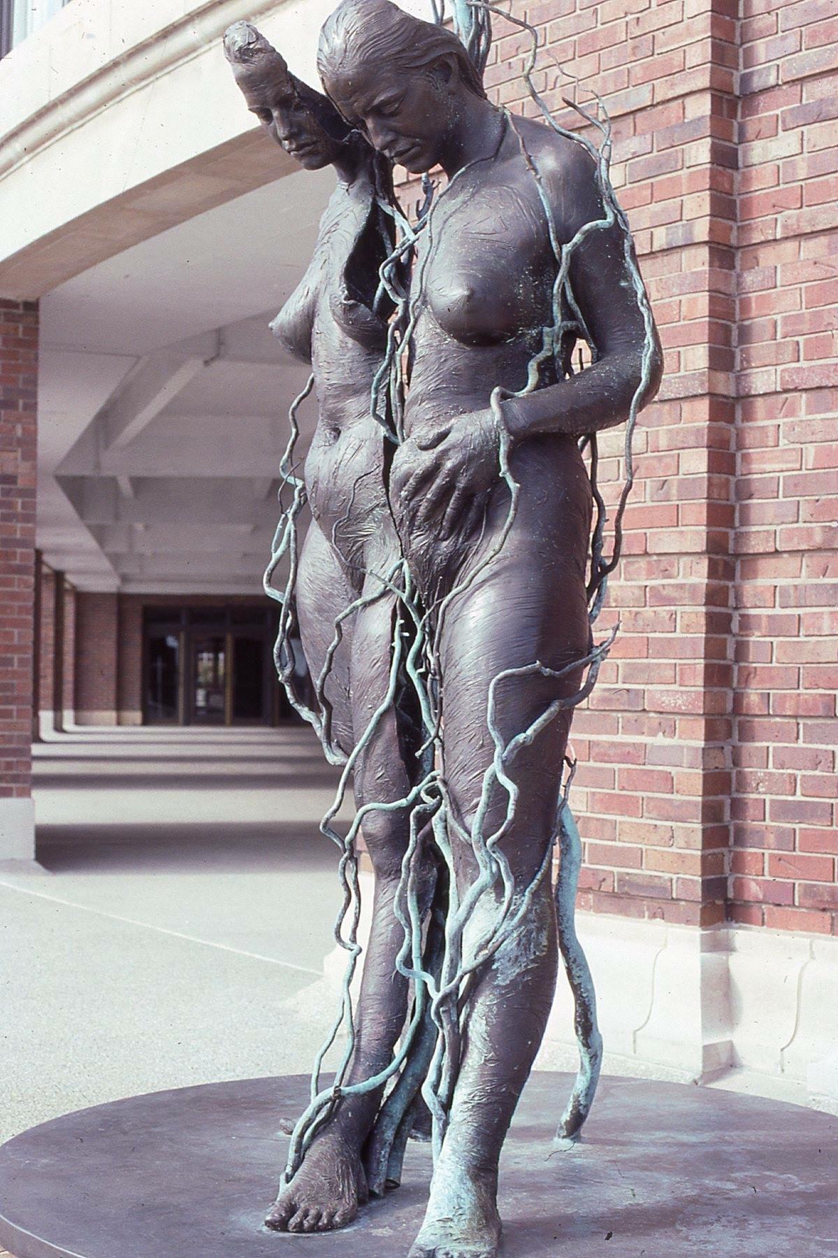 Gaia  - 11'X 6'X 6'in cast bronze (2000) at Navy Pier in Chicago, IL