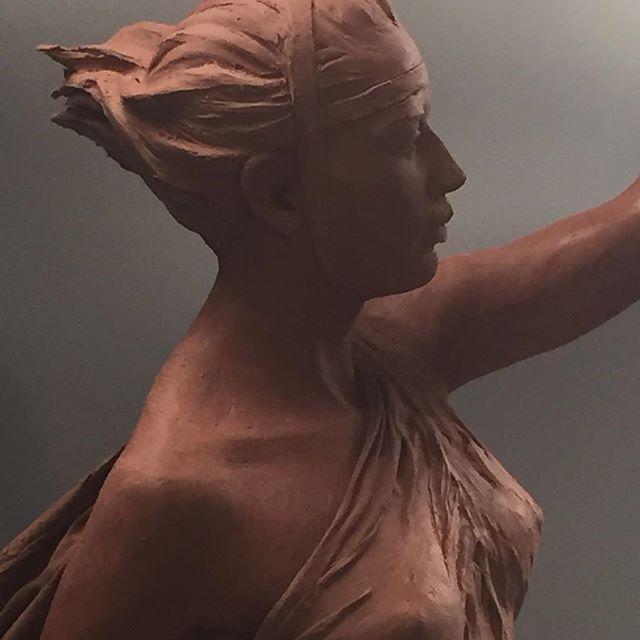 Work in progress. #artgallery  #fineartsculpture  #finearts  #academicart  #mitologia  #portrait
