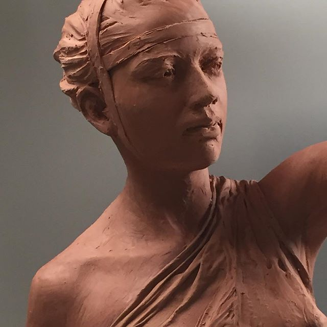 #academic_artworks  #artistsoninstagram galleries. # figurative sculpture  #portrait