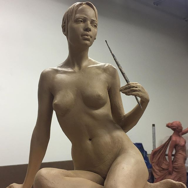 Join me for a workshop on modeling a clay portrait, also hands and feet from direct observation.June 22nd through the 28th at Brookgreen Gardens, Pawleys Island, SC, The oldest sculpture garden in America. http://www.brookgreen.org/sculpture-workshops #artist #sculpture #modelingclay #claysculpture #sculpture #sculpturestudio  #portraitsculpture #sculptureartist #sculptor  #claysculpture  #clayportrait #clayart #claystudio #clayartist #clayarts #contemporarysculpture #figurativesculpture #contemporaryarts  #womensculpture  #sculpturegallery #claymodeling #sculpture  #sculpturesofinstagram #sculptureart  #portraitsculpture #figurativeart