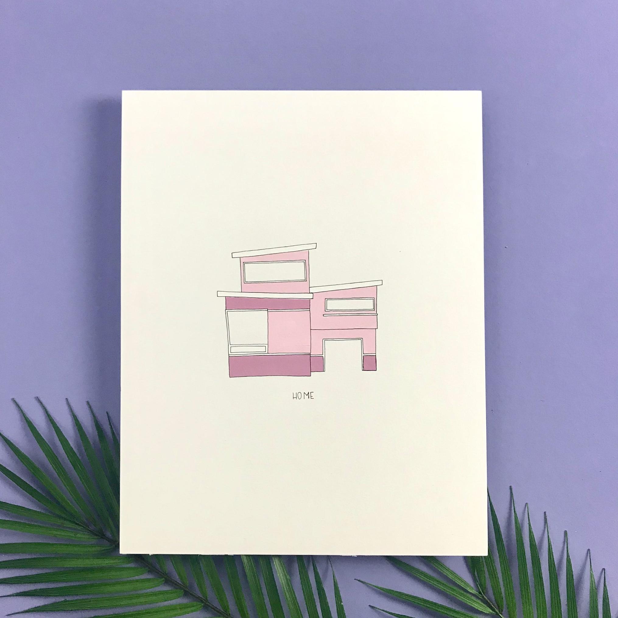 11x14 House - $150
