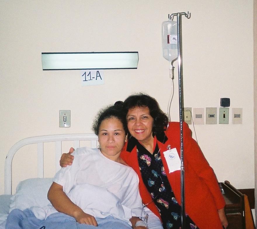 Felisa with Andrea