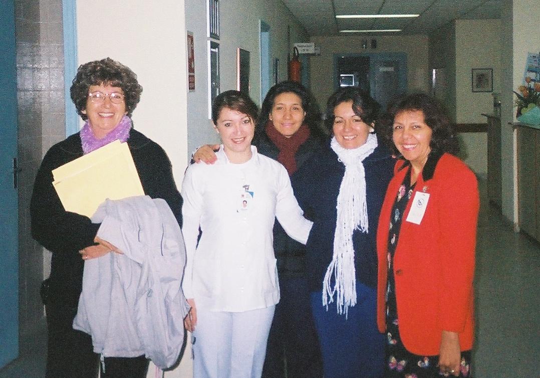 Felisa with Celmira Bay & Nursing Staff