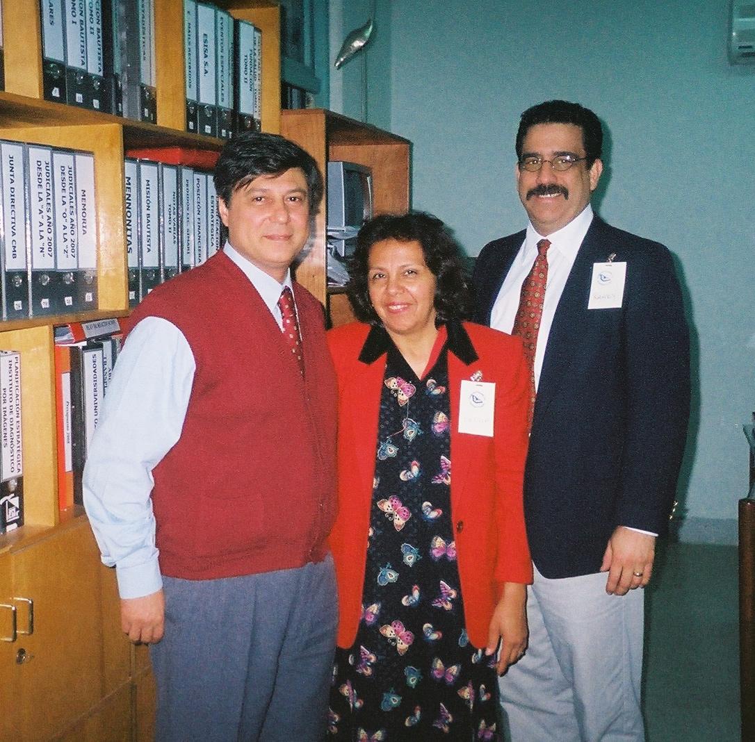 Lic. Ernesto Semari,  Felisa De Kler & Randy De Kler