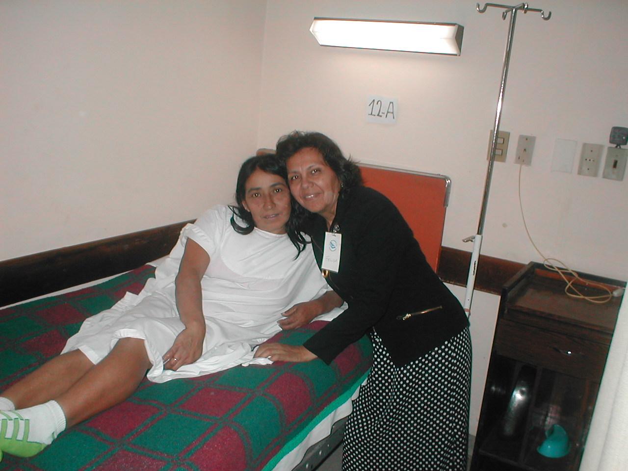 Felisa with Antolina