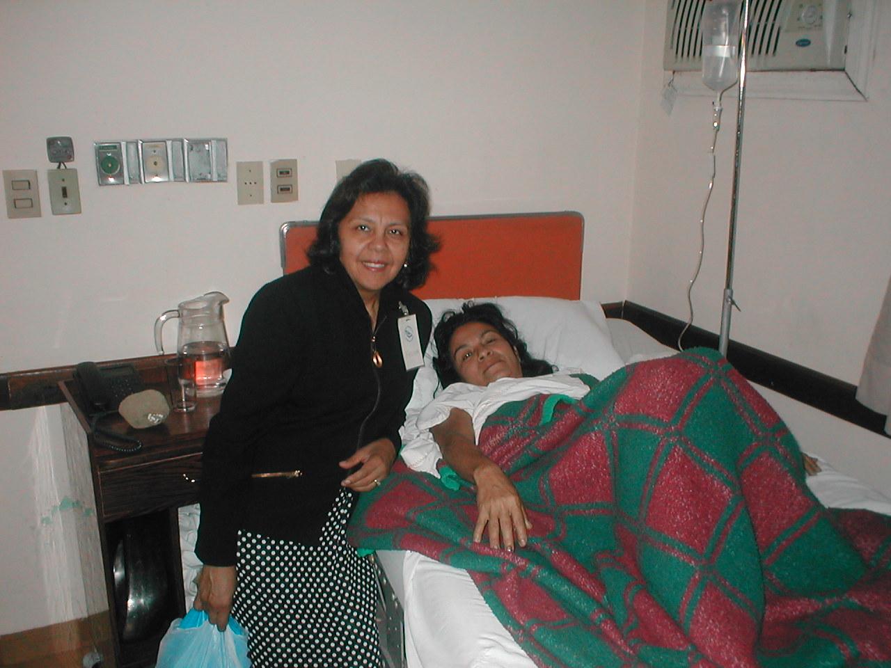 Felisa with Rafaela