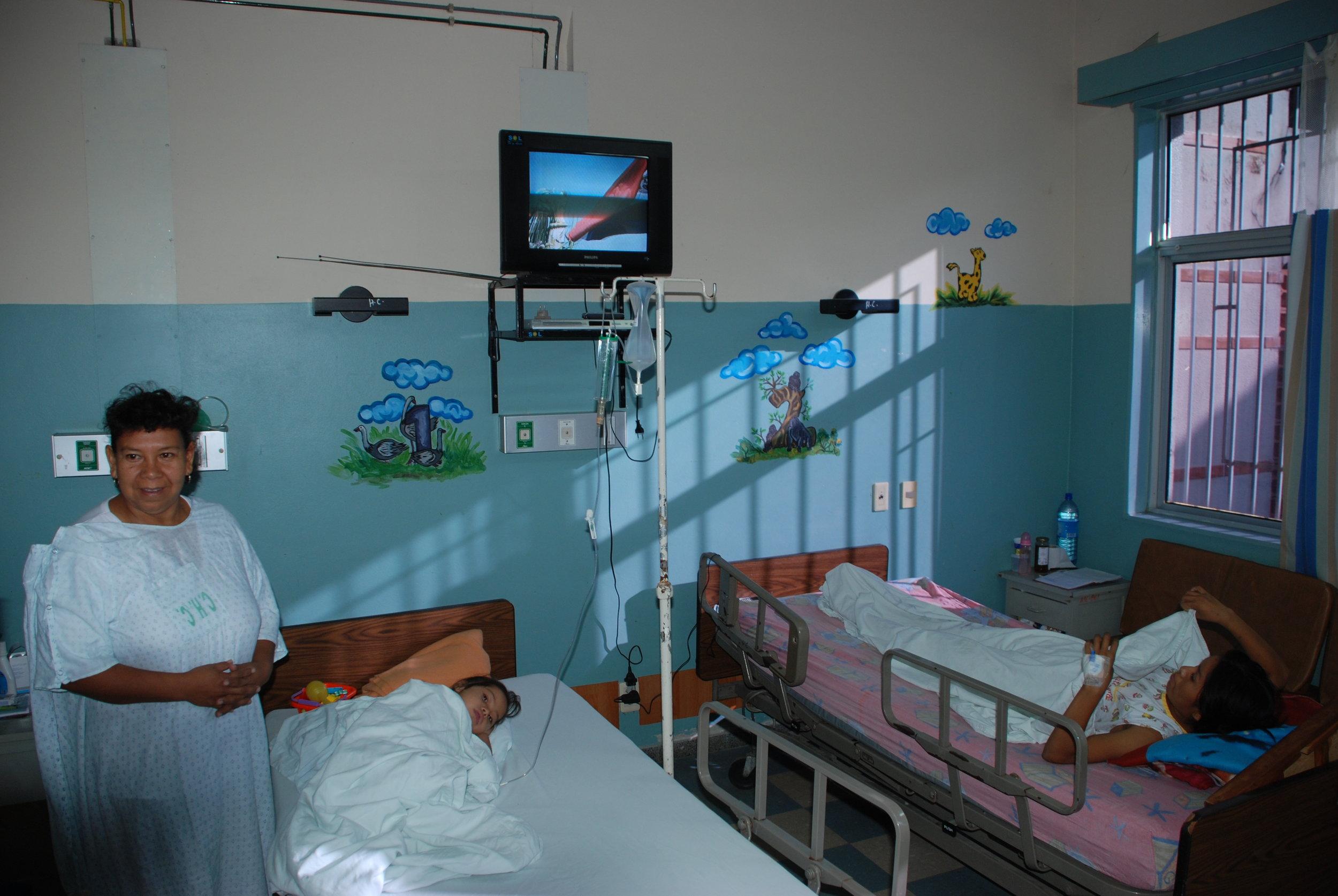Centro Maternal Infantil Hemo-Oncology inpatient treatment