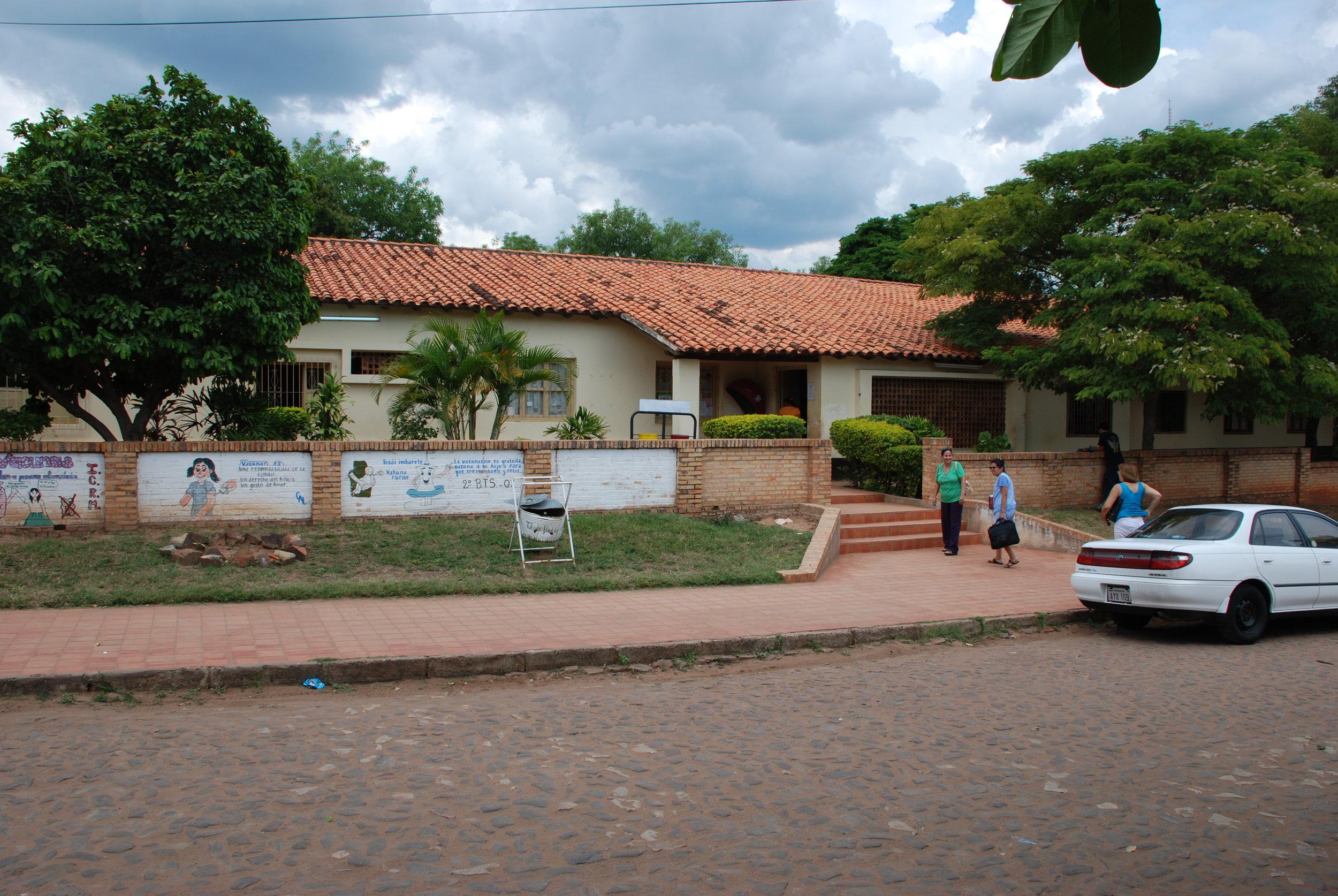 Centro De Salud de Tobati