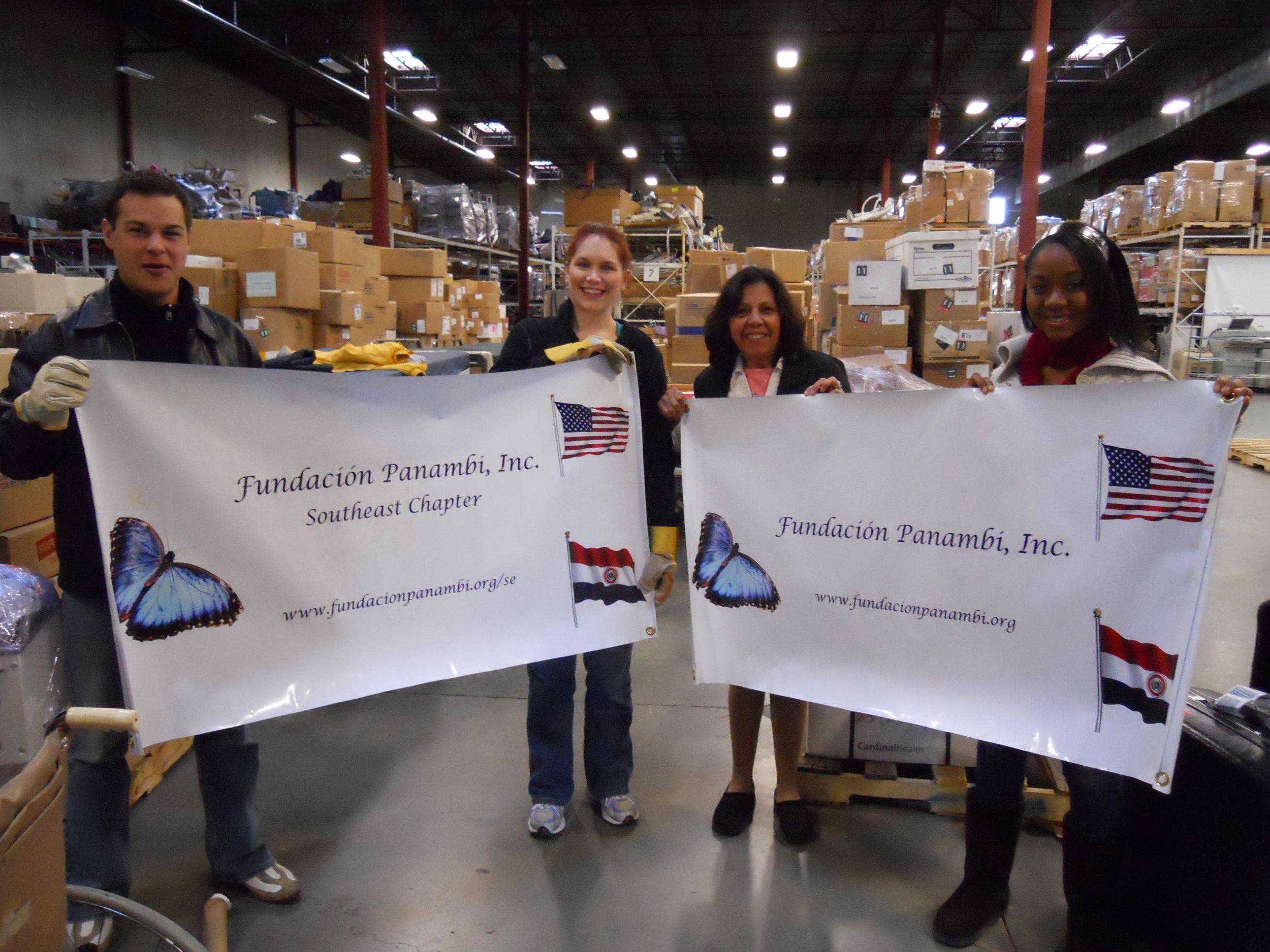 Felisa and Project C.U.R.E. staff and volunteers