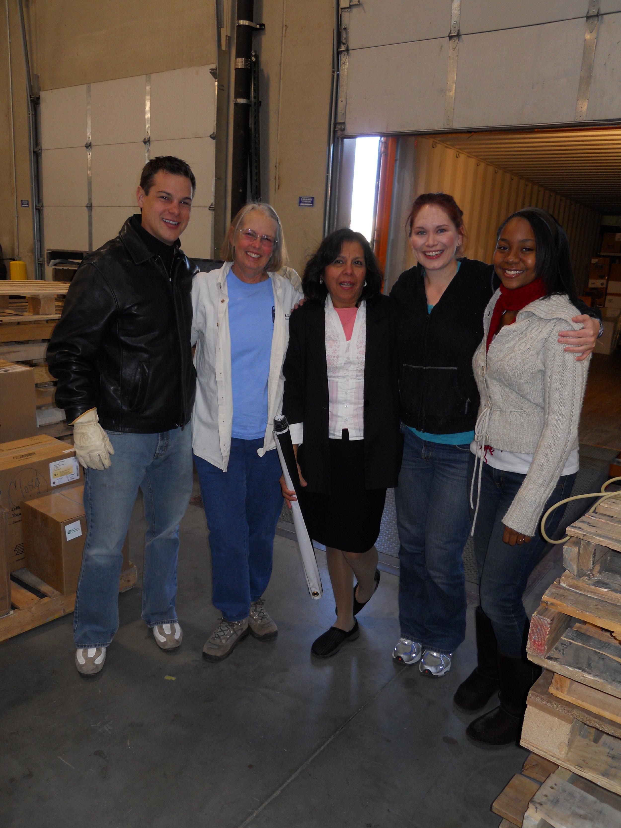 Felisa with Project C.U.R.E. staff and volunteers