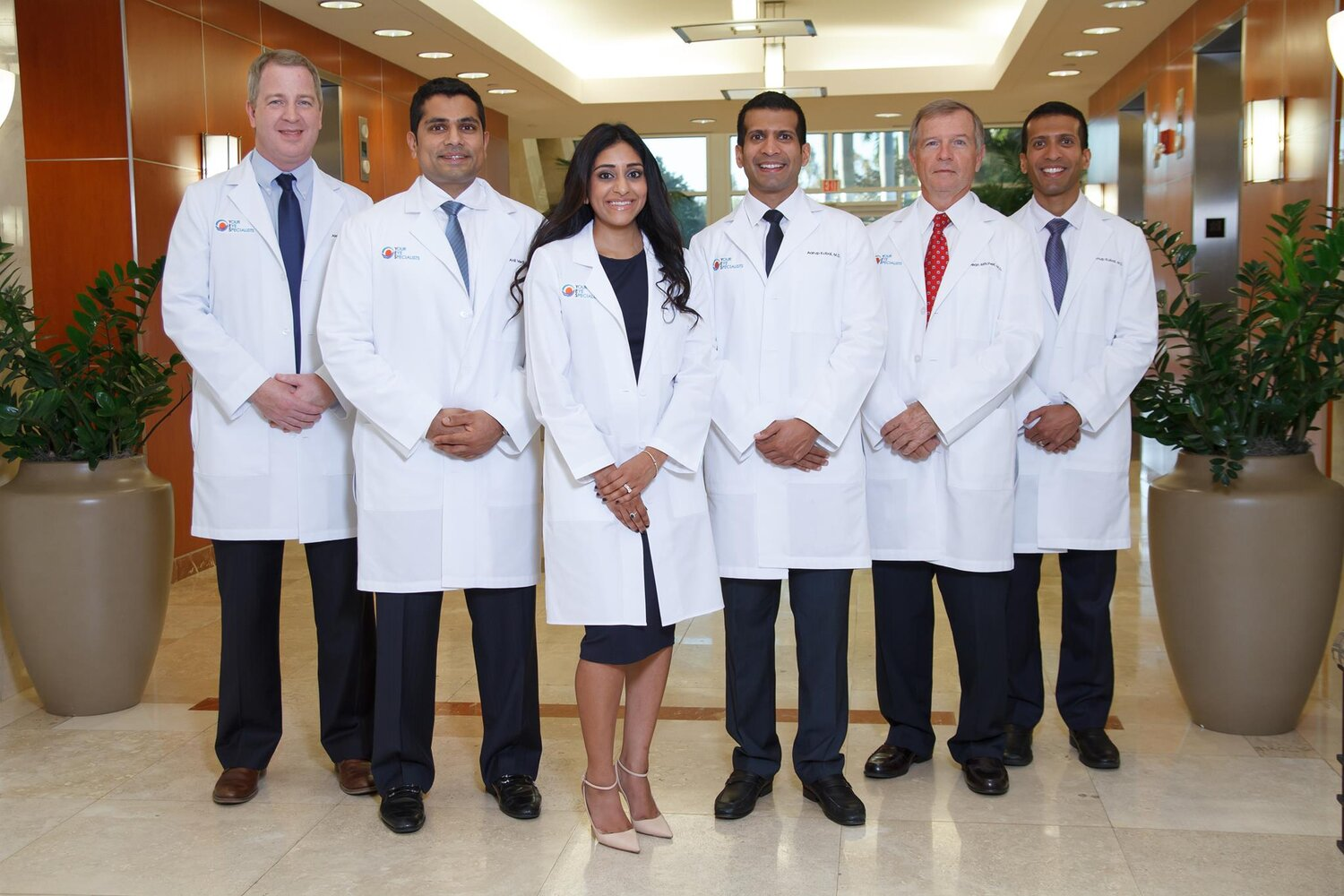 Your Eye Specialists' great team of trusted doctors.