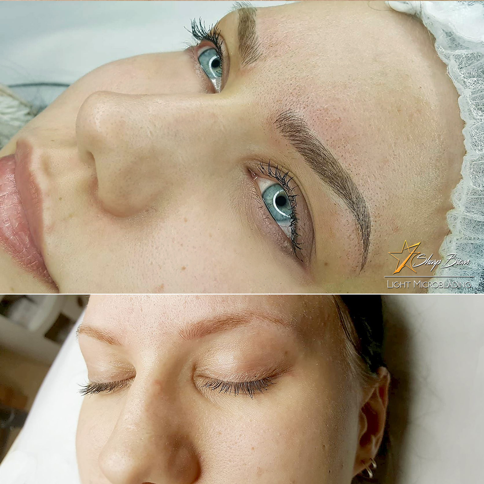 Correctly made SharpBrows Light microblading does not only bring out and brighten the eyes, it changes the overall appearance of the face. Clients say that they have lost tens of years when it comes toi the age they look like.