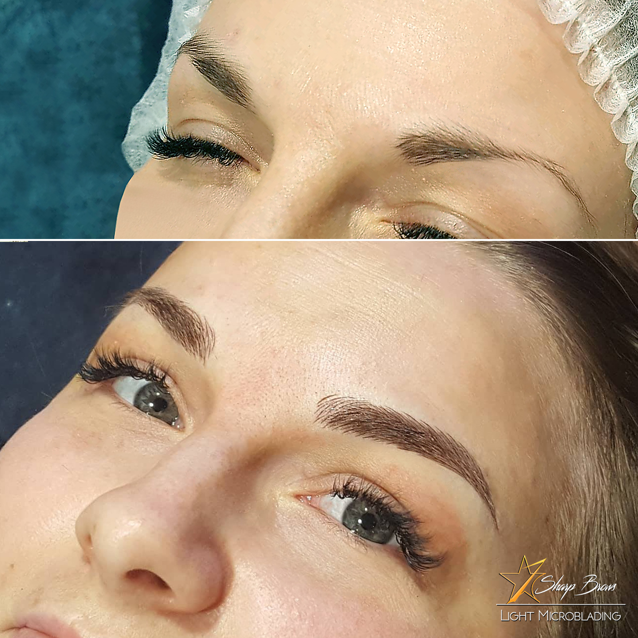 SharpBrows Light microblading. The results of microblading have never been better :)